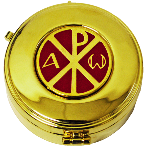 Pyxis, gold, PX, Emaille,