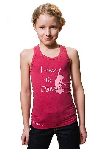 "Kids-Tank ""Love To Dance"""