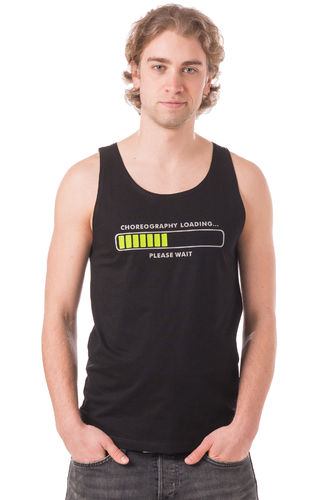 "Men's Tank Shirt ""Choreography is loading"""