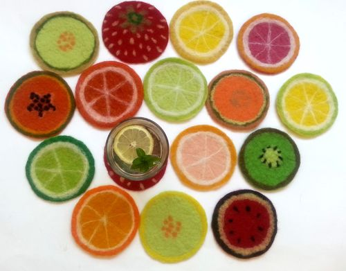 Thin Fruit Coaster