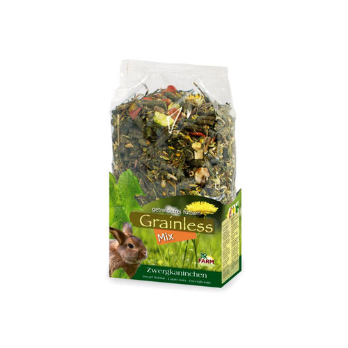 JR Grainless Mix Zwergkaninchen 650 g