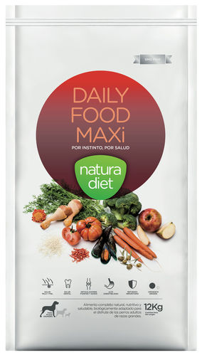 NATURA DIET Daily Food MAXI (Huhn & Reis monoprotein) 12 kg