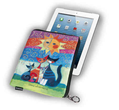 "Tablet Tasche 10"" - ""R. Wachtmeister - Momenti di felicita"""