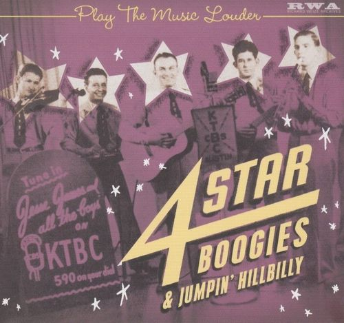 VARIOUS ARTISTS - 4 Star Boogies & Jumpin' Hillbilly