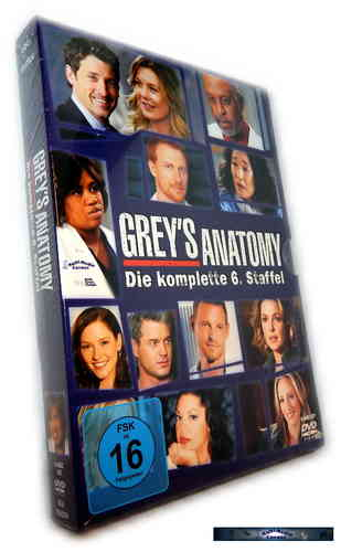 Grey´s Anatomy - Die komplette Staffel/Season 6 [DVD]