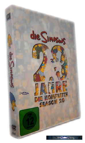 Die Simpsons - Die komplette Staffel/Season 20 [DVD]