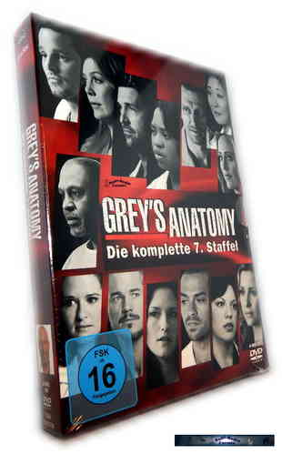 Grey´s Anatomy - Die komplette Staffel/Season 7 [DVD]