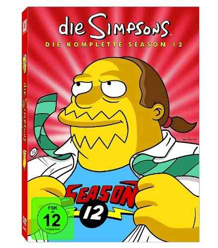 Die Simpsons - Die komplette Staffel/Season 12 [DVD]