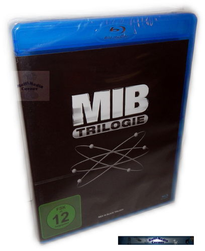 Men in Black - MIB Trilogie/Trilogy (1-3) [Blu-Ray] Box-Set