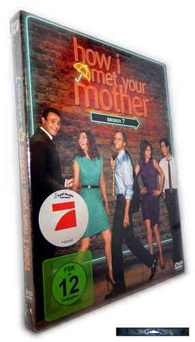 How I met your mother - Die komplette Staffel/Season 7 [DVD]