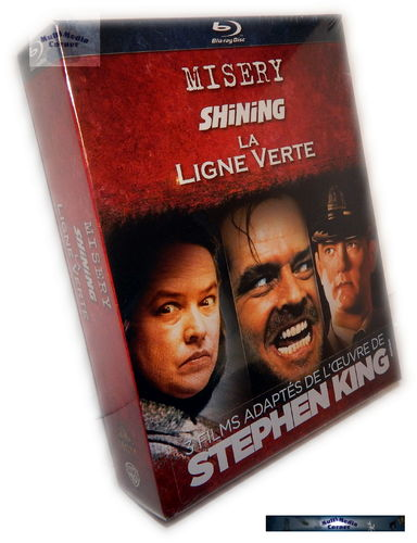 Stephen King Collection [Blu-Ray] (Mysery, Shining, The green Mile)