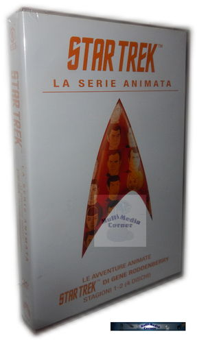 Star Trek The Animated Series (Zeichentrick) Staffel/Season 1+2 [DVD]