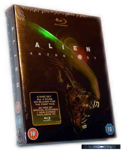 Alien Anthology Edition [Blu-Ray] 6 Disc
