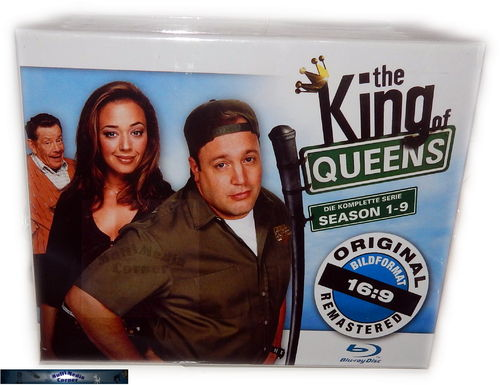 King of Queens - HD Superbox [Blu-Ray] Staffel 1,2,3,4,5,6,7,8,9
