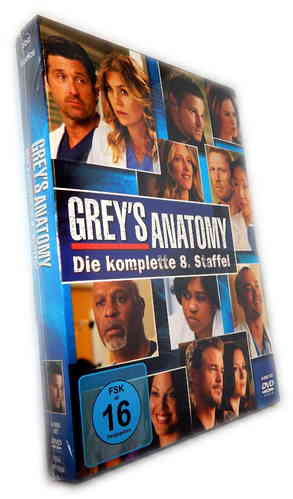 Grey´s Anatomy - Die komplette Staffel/Season 8 [DVD]