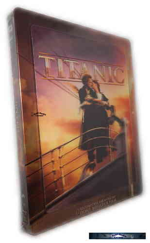 Titanic 3D limited Steelbook mit Lenticularcover (+2D) [Blu-Ray]