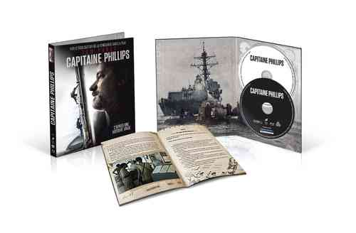 Captain Phillips - limited Digibook [Blu-Ray] (+DVD) Digi-Pak