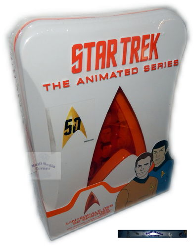 Star Trek Animated Series (Zeichentrick) komplete Staffel/Season 1+2 [DVD] limited