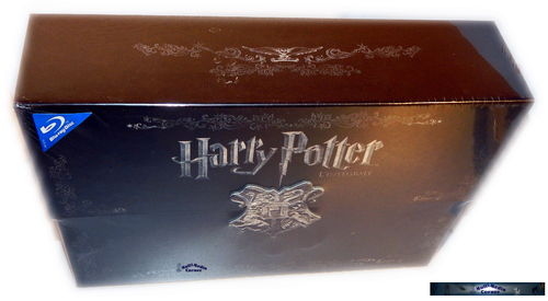 "Harry Potter Komplett Box 1-7.2 [Blu-Ray] ""Hogwarts"" Edition"