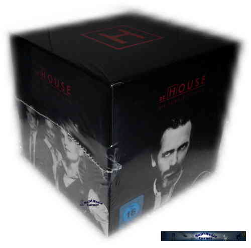 Dr. House Komplettbox - Staffel/Season 1,2,3,4,5,6,7+8 [DVD] limited Edition