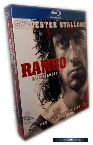 Rambo Trilogy - The Ultimate Edition (uncut) [Blu-ray]