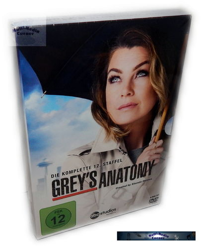 Grey´s Anatomy - Die komplette Staffel/Season 12 [DVD]