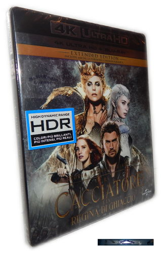 The Huntsman & the Ice Queen Box-Set [4K UHD + Blu-Ray]