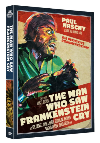 The Man who saw Frankenstein Cry mit SAMMLERBOX