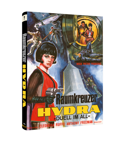 Raumkreuzer Hydra Duell im All  Cover A