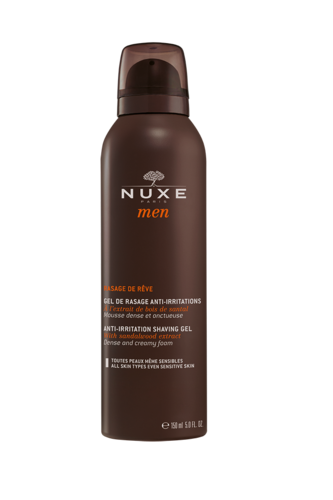 NUXE Paris Men Gel De Rasage Anti-Irritations 150 ml Rasiergel gegen Hautirritationen