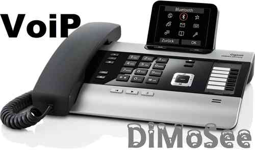 GIGASET DX800A Basis (VoIP, ISDN, Analog) titanium All in one