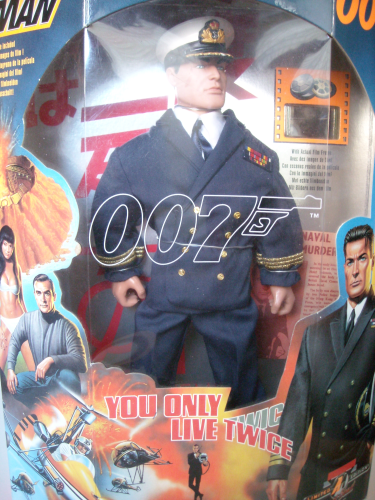 Action man James Bond traje oficial