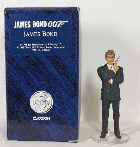 Corgi Icon James Bond Roger Moore