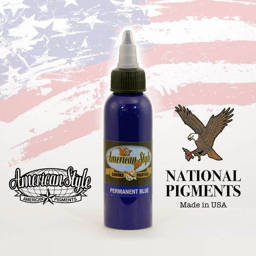 American Style Permanent Blue