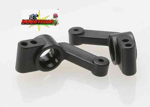 TRA3752  Stub axle carriers (2) (requires 5x11x4mm bearings)