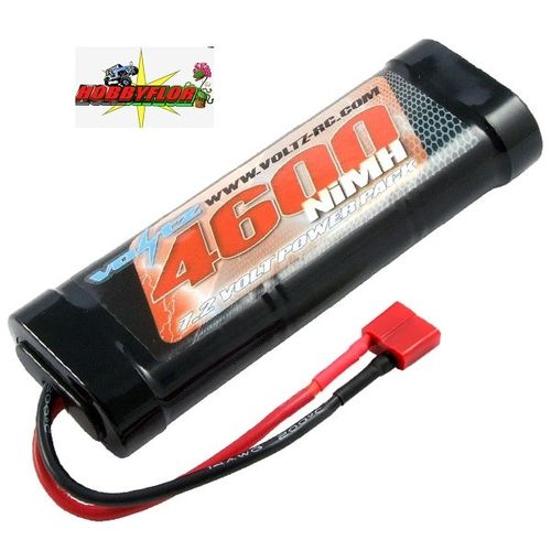 VOLTZ 4600MAH STICK PACK 7.2V W/DEANS CONNECTOR VZ0020D