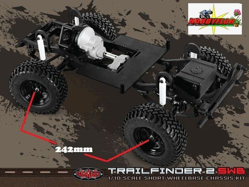 "RC4WD TRAIL FINDER 2 TRUCK KIT ""SWB"" WB 242mm Z-K0045"