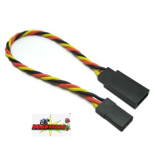 ETRONIX 10CM 22AWG JR TWISTED EXTENSION WIRE ET0732