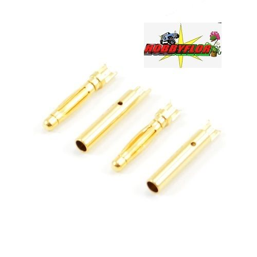 ETRONIX 2.0MM GOLD CONNECTORS (2PR) ET0609