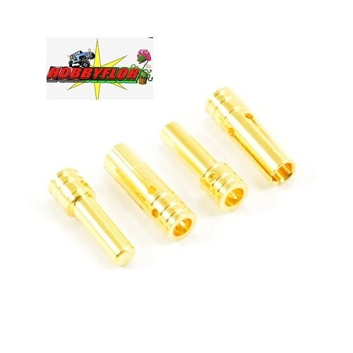 ETRONIX 3.5MM GOLD CONNECTORS (2PR) ET0610