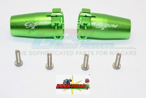 AXIAL Racing SCX10 II Aluminium Rear Knuckle Arm - 1pr set (AX31383) - GPM SCX2022 Verde