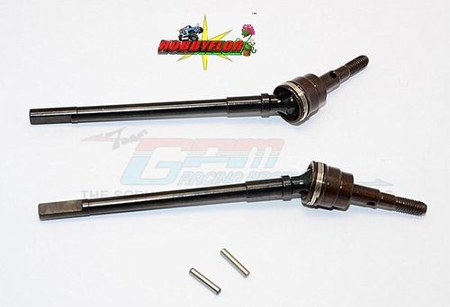 AXIAL Racing SCX10 II Steel Front CVD Drive Shaft - 1pr set (AX31402) - GPM SSCX2274C