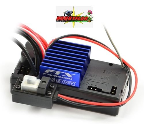 FTX OUTBACK 2-IN-1WATERPROOF RECEIVER AND ESC 40amp Conector mini Tamiya UNIT FTX8177
