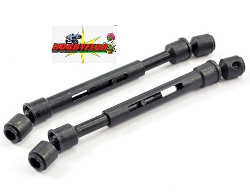 FTX OUTBACK ALU FRONT/REAR UNIVERSAL JOINT eje 5mm (2) FTX8242 (outback-kulak-barrage-temper-stoner)