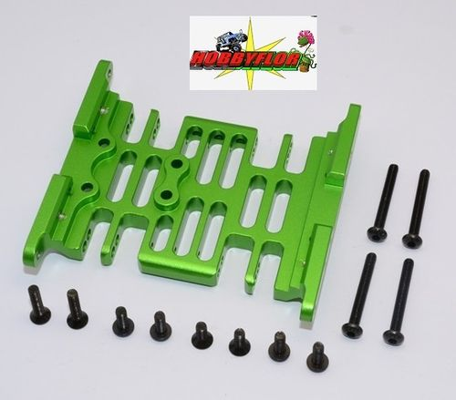 Axial Racing SCX10 Alloy Center Frame Brace - 1set - GPM SCX038B Verde