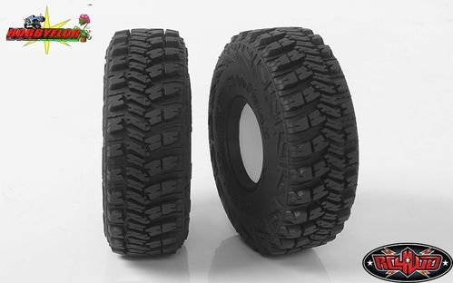"RC4WD GOODYEAR WRANGLER MT/R 1.7"" SCALE TIRES Z-T0157 (2 gomas) Diametro 106.4mm"