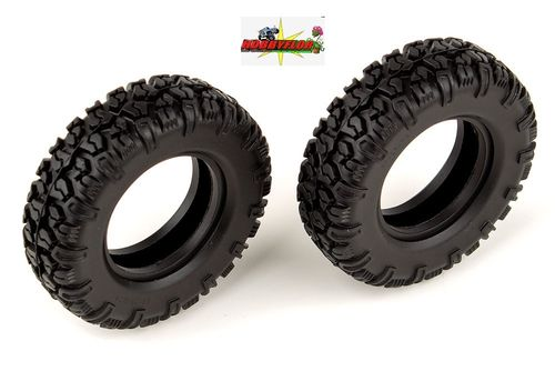 ASSOCIATED CR12 MULTI-TERRAIN TYRES 1.55 / anchura 25mm / Diametro 82mm (2 gomas) AS41054