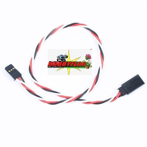 ETRONIX 30CM 22AWG FUTABA TWISTED EXTENSION WIRE ET0734