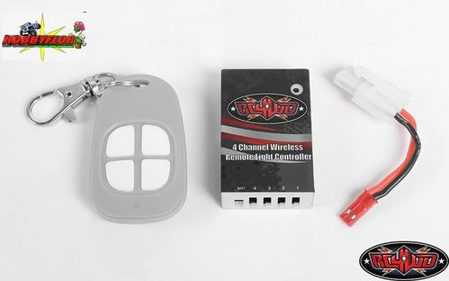RC4WD 4 CHANNEL WIRELESS REMOTE LIGHT (controladora y mando a distancia para luces) Z-E0093