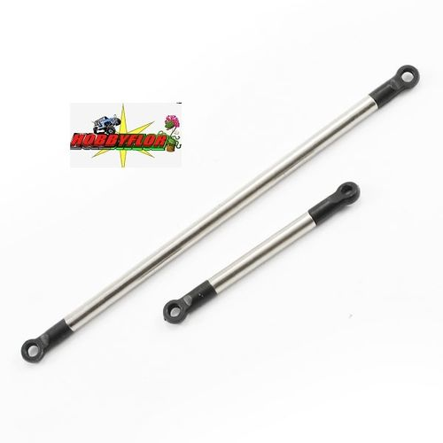 FTX OUTBACK 2.0 NICKEL PLATED STEEL STEERING ROD AND SERVO R FTX8264